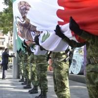 Realizan ceremonia del Día de la Bandera en Morelos