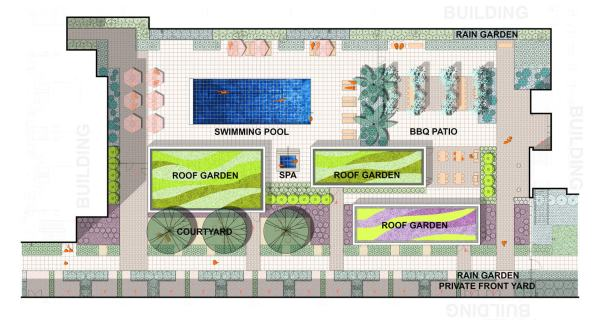 Sized_Windflower_Courtyard Illustrative Plan