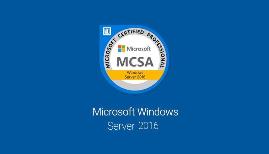 MCSA Windows Server 2016 Exam 70-740