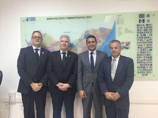 Marcos Savall, Telmo Lemos, Christian Teixeira e Flávio Gomes de Barros