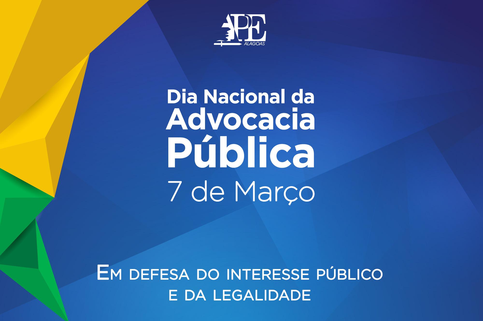 Banner Dia da Advocacia | APE/AL