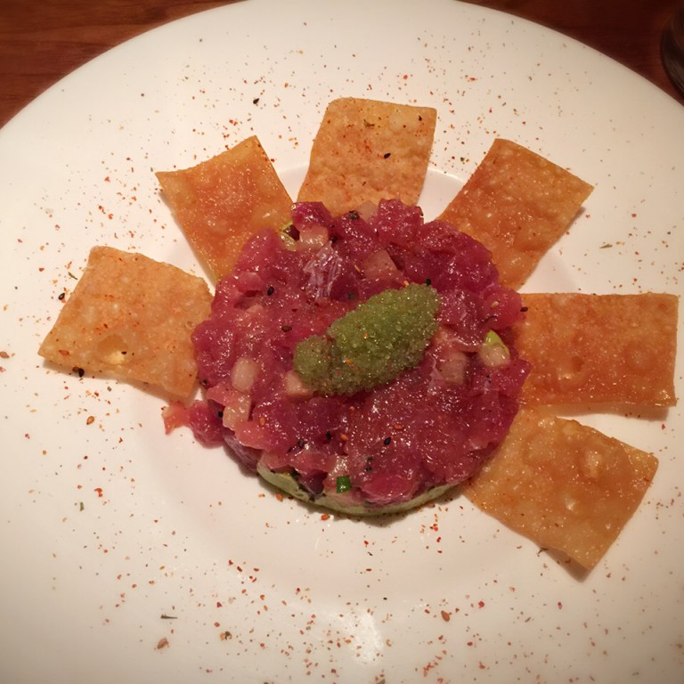 El Dorado Kitchen Ahi Tuna Tartare