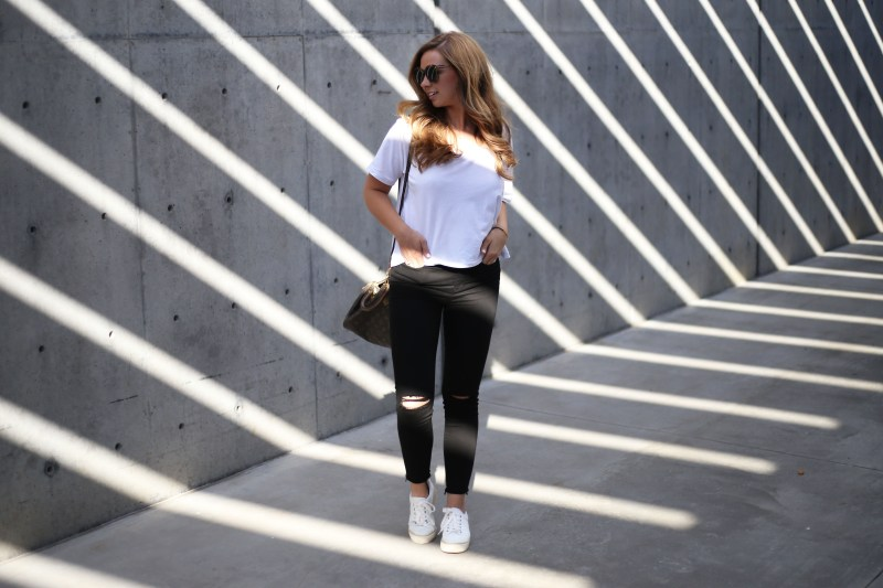 White Cropped Tee - A Pearl Kind of Girl