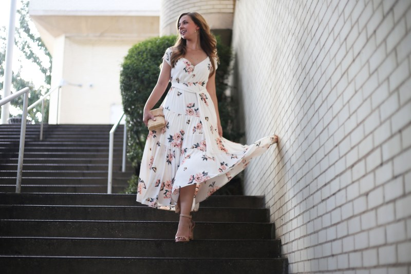 Floral Maxi Dress - A Pearl Kind of Girl