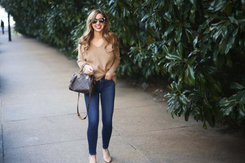 Camel Sweater - A Pearl Kind of Girl