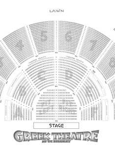 Download reserved seating map  ape greek theatre also venue information another planet entertainment rh apeconcerts