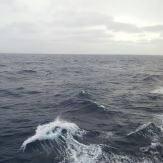 Some rough seas along the way. Photo: Liezel Rudolph.