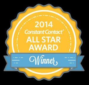 2014 Constant Contact Award Banner