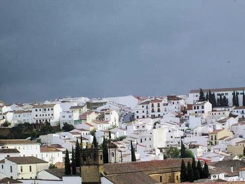 white houses of Ronda