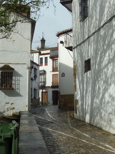 Narrow streets of Ronda