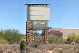 Discussion Continues: The Summit Scottsdale Proposes 11′ 6″  Sign