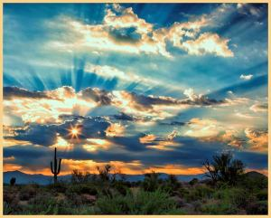 """McDowell Sonoran Preserve Sunrise"" by Susan Q. Byrd"