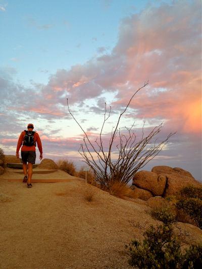 """""""Dawn Start at Pinnacle Peak Park"""" by Kathy Mascaro"""