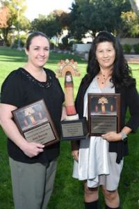 Amy Barczak and Denise Garcia.