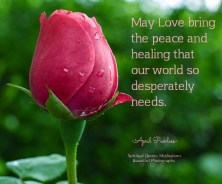 World peace and healing