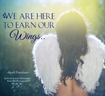 We are here to earn our wings.. April Peerless SQMBP