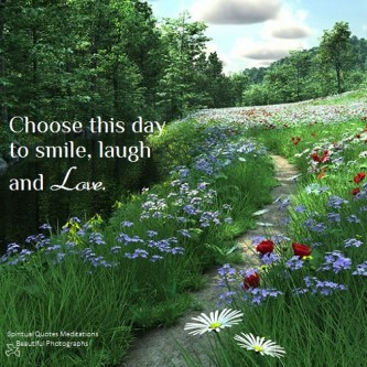 Tomorrow has not invited you yet, so live for today.. Tomorrow is near, yet so far away. Choose this day to smile, laugh, love unconditionally and be happy within. Stephanie Lahart