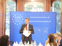 Herbert Dorfmann, MEP and President of the APE