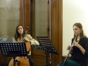 Tiphaine Hervouet, Valentin Chiapello, Solène Queyras, Briana Leaman - Musicians of the Superior Academy of Music of Strasbourg