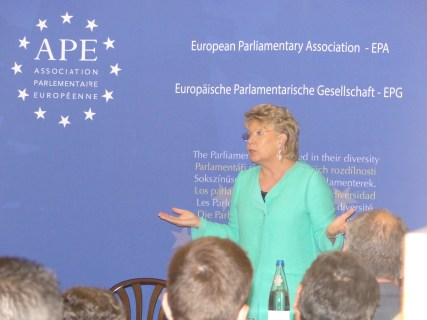 Viviane Reding, MEP and former Vice president of the European Commission in charge of Justice, Fundamental Rights and Citizenship