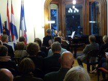 Concert with Frank van Lamsweerde and Elyette Weil