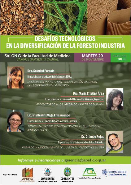 Desafíos tecnológicos en la diversificación de la foresto industria