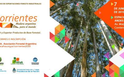 Último día de descuento al seminario de exportaciones forestoindustriales para socios de la APEFIC