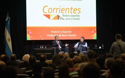 Corrientes fue sede de un seminario internacional que reunió a referentes del sector forestal y forestoindustrial