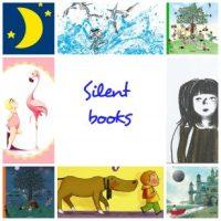 Selección de silent books (libros sin palabras)