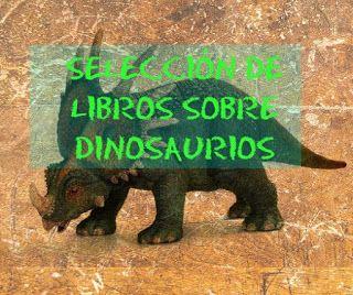 Selección de libros sobre dinosaurios (aprendizaje)