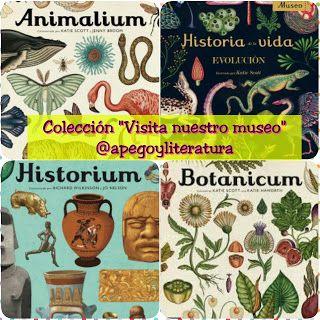 """Reseña: Colección """"Visita nuestro museo"""" («Animalium», «Historium», «Dinosaurium» y más)"""