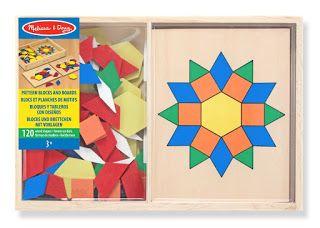 Anna Laura juega y aprende con…el puzzle geométrico