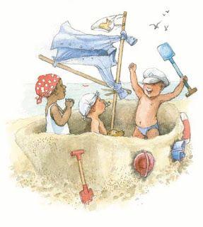 Selección de libros infantiles sobre piratas
