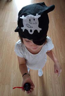 Anna Laura…juega a ser pirata