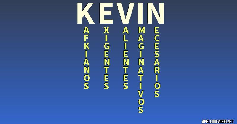 Significado del apellido kevin - Significados de los apellidos