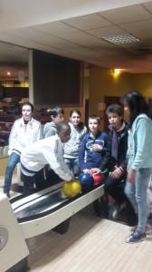 Sortie bowling de l'internat