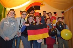 Journée allemande