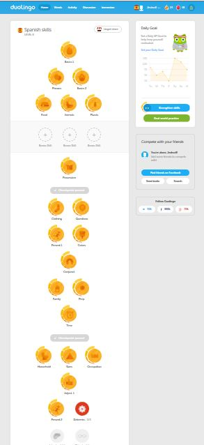 How to change your name on duolingo