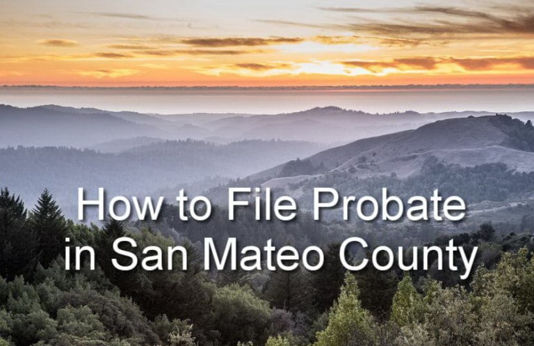 how to file probate in san mateo county