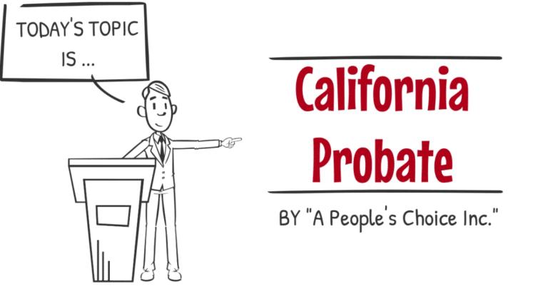 California probate