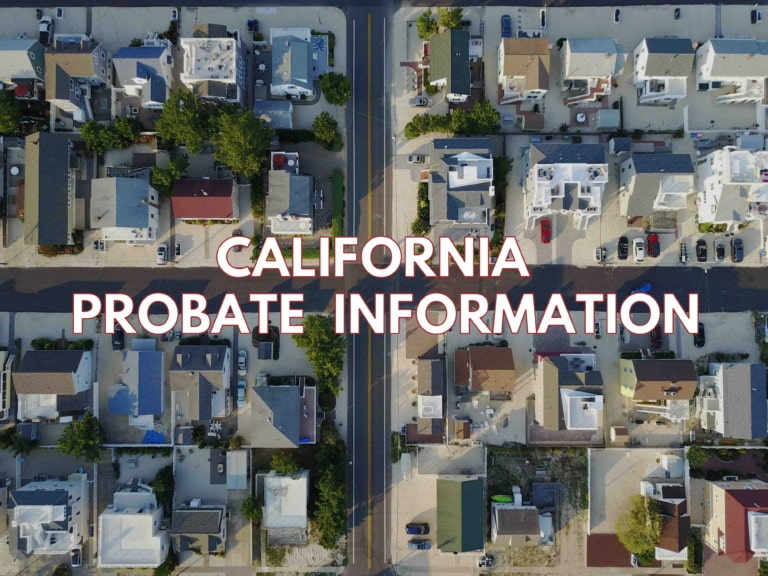 california probate information