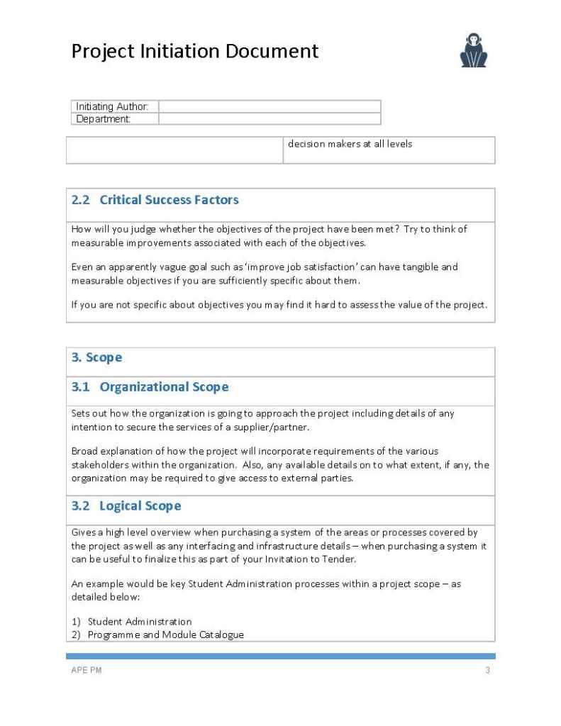 scope document templates - Onwe.bioinnovate.co