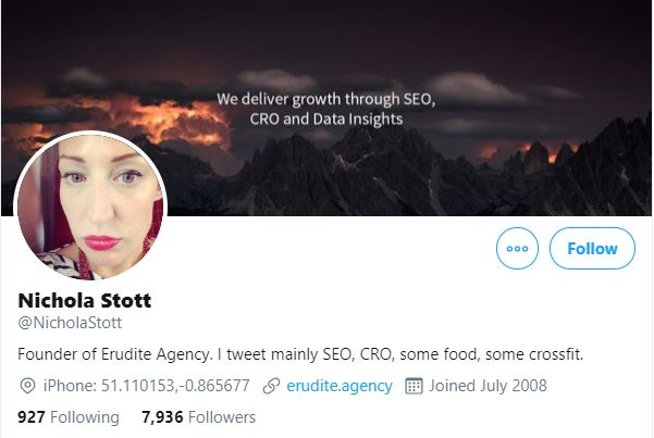 Nichola Stott - SEO Reviewer and News Provider
