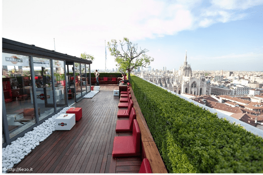 The best Rooftop Bars in Milan for Aperitivo  Cocktails