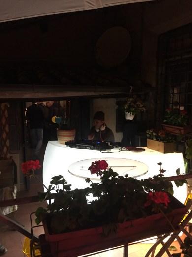 Salotto Palatino Sabato eventi in terrazza con djset