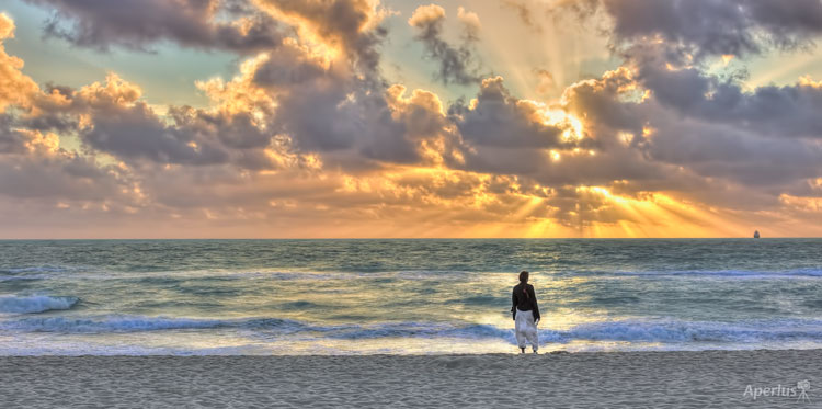 Sunrise in Miami Beach