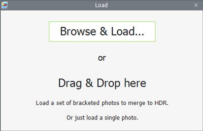 upload photos Photomatix