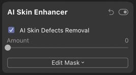 luminar 4 skin enhancer screenshot