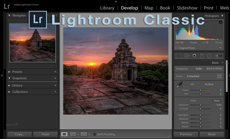lightroom class screenshot