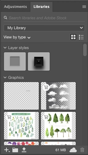 adobe stock and creative cloud syncing